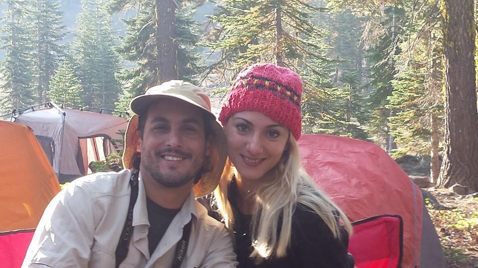 Ricardo and Sol, Mt. Shasta, September, 2014
