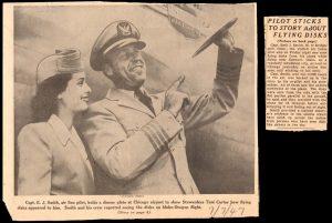 Newspaper article Ken Arnold