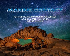 Making Contact CE5 training