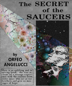 Book cover - Secret of the Saucers by Orfeo Angelucci