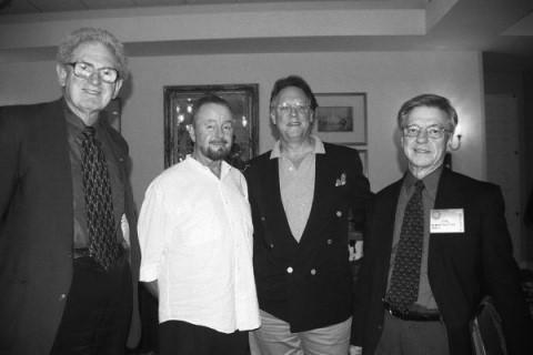 Photo Dr. Russell Targ, Ingo Swann, Stephan Schwartz, Dr. Hal Putoff