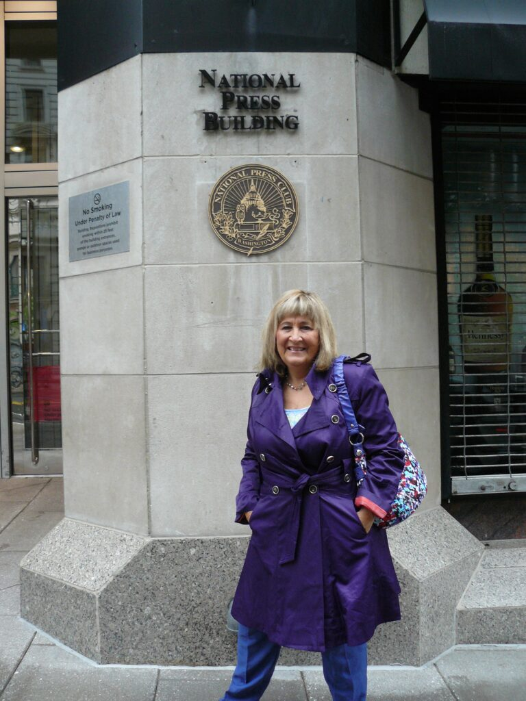 Paola Harris at Citizen Hearing in Washington DC 2013